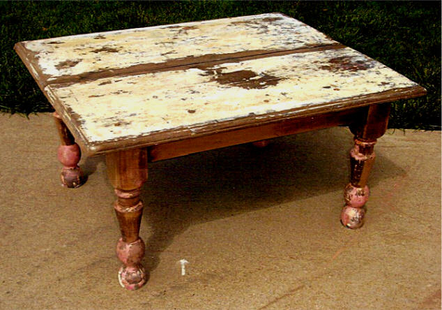 Реставрация старого деревянного стола