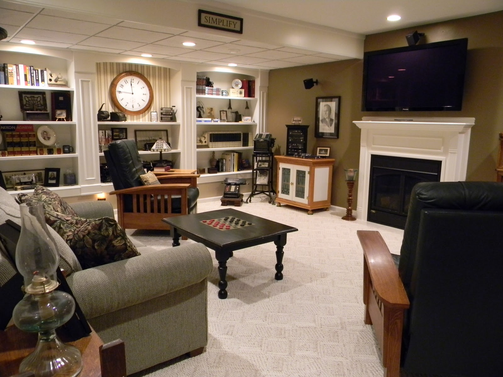 Forever Decorating!: Media Room/Man Cave House Tour