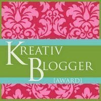Kreativ Blogger Award.