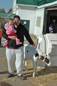 Fall Farm Trip with Daddy
