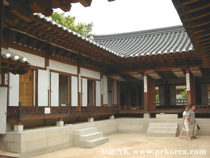 Korea Information Blog Hanok Korean Traditional House