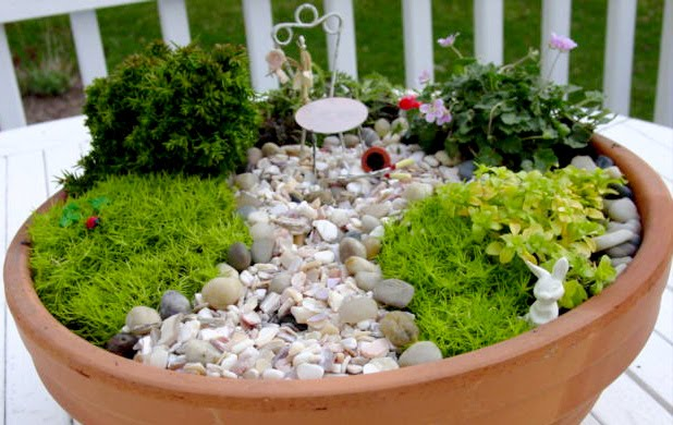 Inspire co miniature garden for Tiny garden spaces