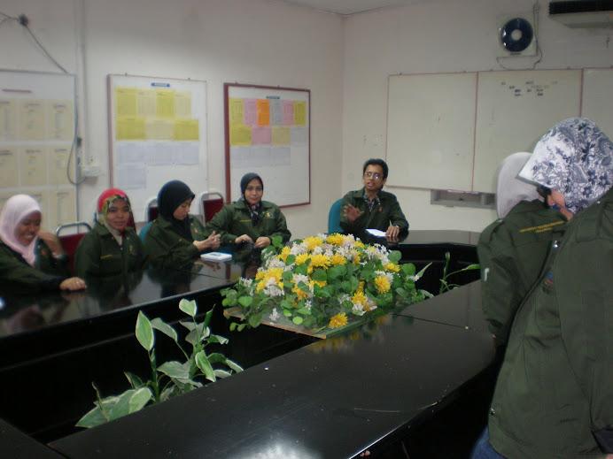Academic-Industrial visit to BERNAS, Kuala Perlis, Malaysia (December 2008)