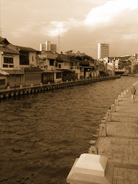 Historical Malacca  by the river