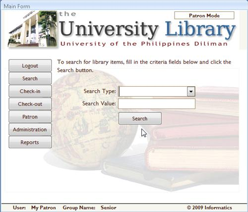 thesis information system management