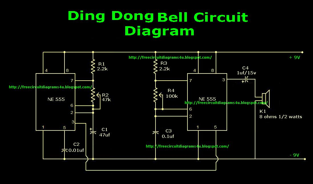 free circuit diagrams 4u ding dong bell circuit diagram rh freecircuitdiagrams4u blogspot com circuit diagram rules circuit diagram 455 khz crystal oscillator