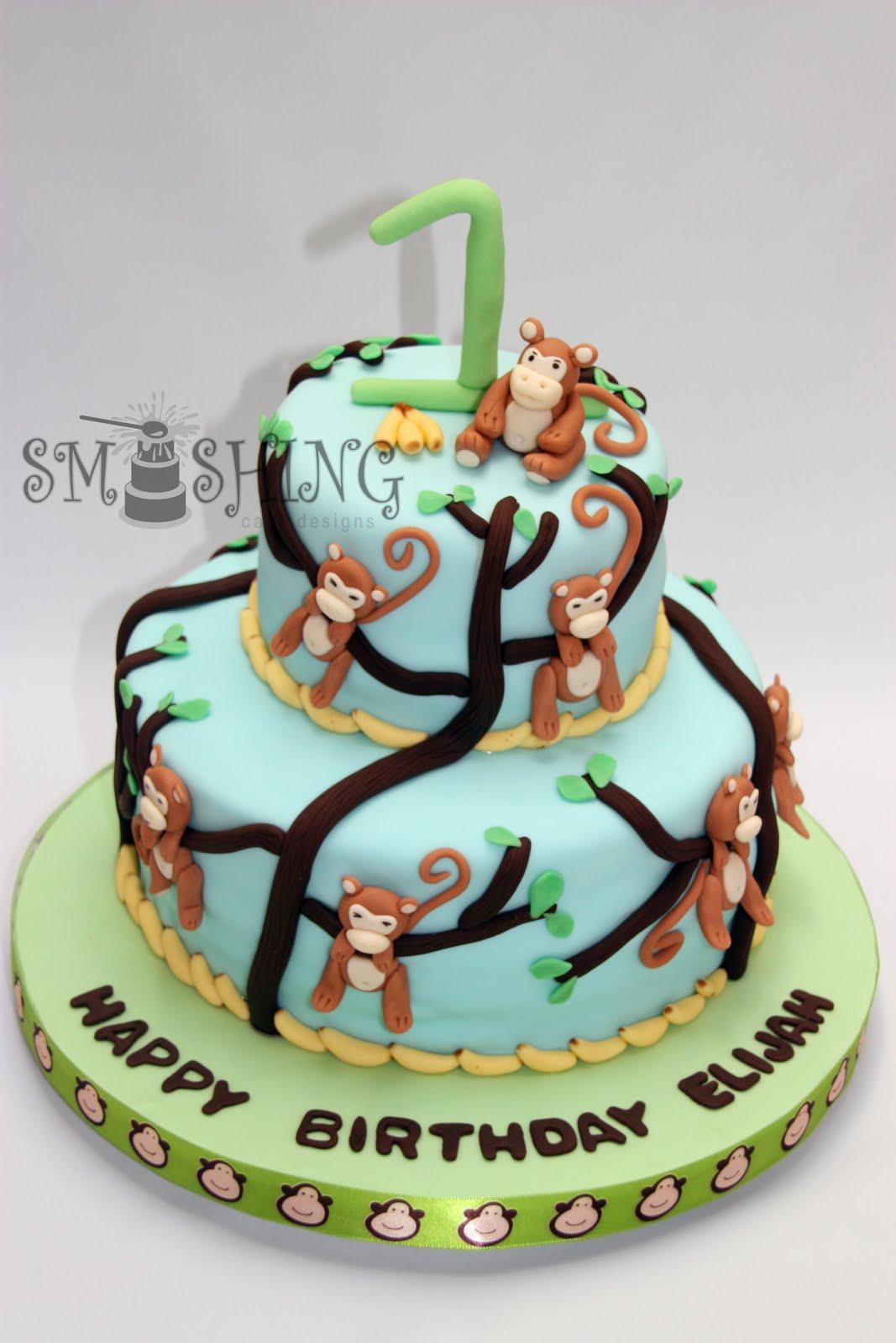 Smashing Cake Designs Monkey Business