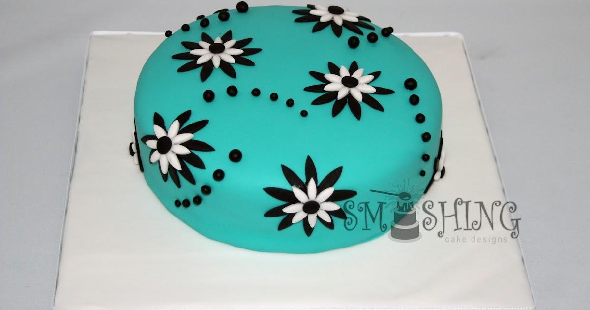 Smashing Cake Designs Simple Floral Birthday Cake