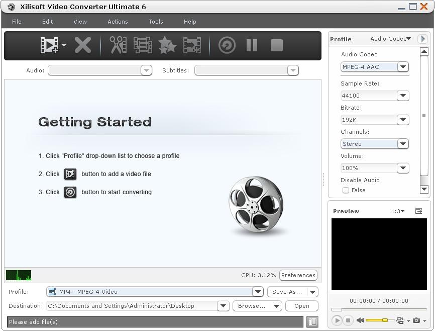 Xilisoft video converter ultimate 5.1.26.1012