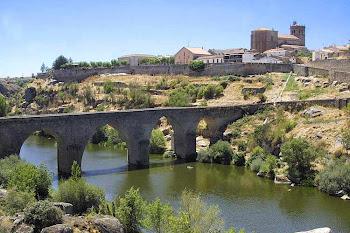 Vista de la Villa de Ledesma (Salamanca)