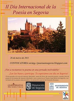 II Día Internacional de la Poesía en Segovia