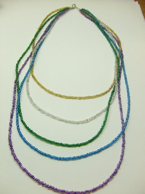 How to Make Beaded Jewelery : Making Seed Bead Patterns