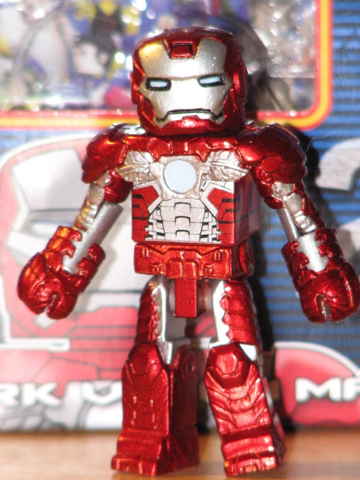 Mark V Iron Man /& War Machine Iron Man 2 Minimates