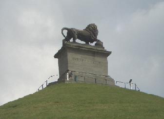 Monumento à Batalha de Waterloo - Junho de 1815