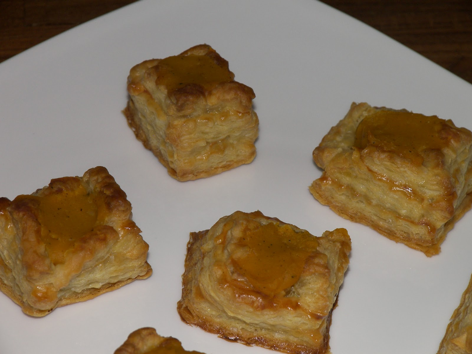 Cooking Delicious Food: Butternut squash in puff pastry