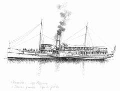 Storia delle barche a motore barche a vapore for Barca a vapore per barche da pesca