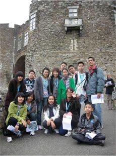 ค่ายภาษาอังกฤษที่ประเทศอังกฤษ ระหว่าง 2-23 ตุลาคม 2553