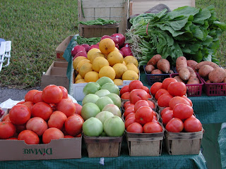 stop global warming - buy local produce, not stuff that traveled 5000 miles