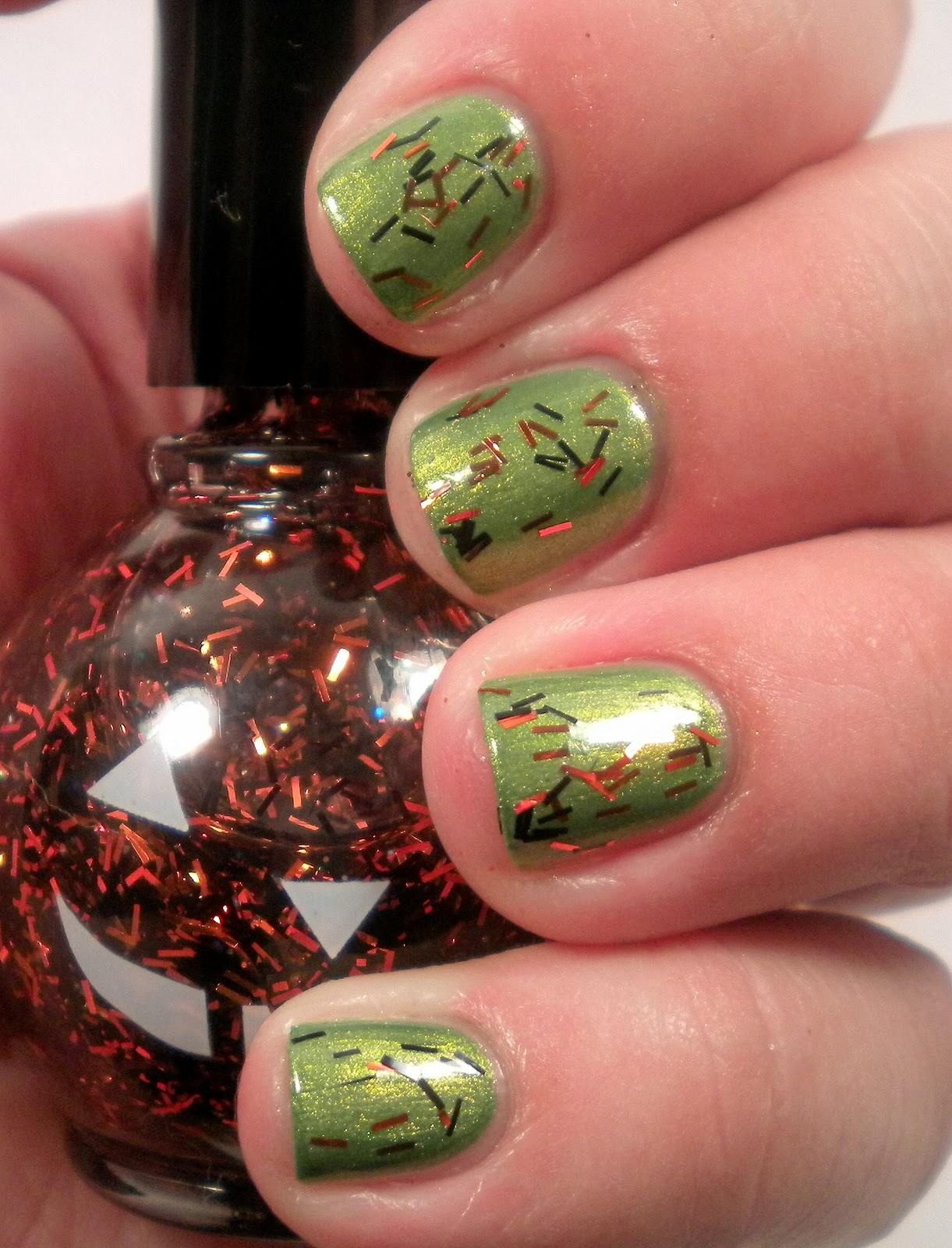 How To Paint Halloween Pumpkin Nails Nails Manicure | Auto Design Tech