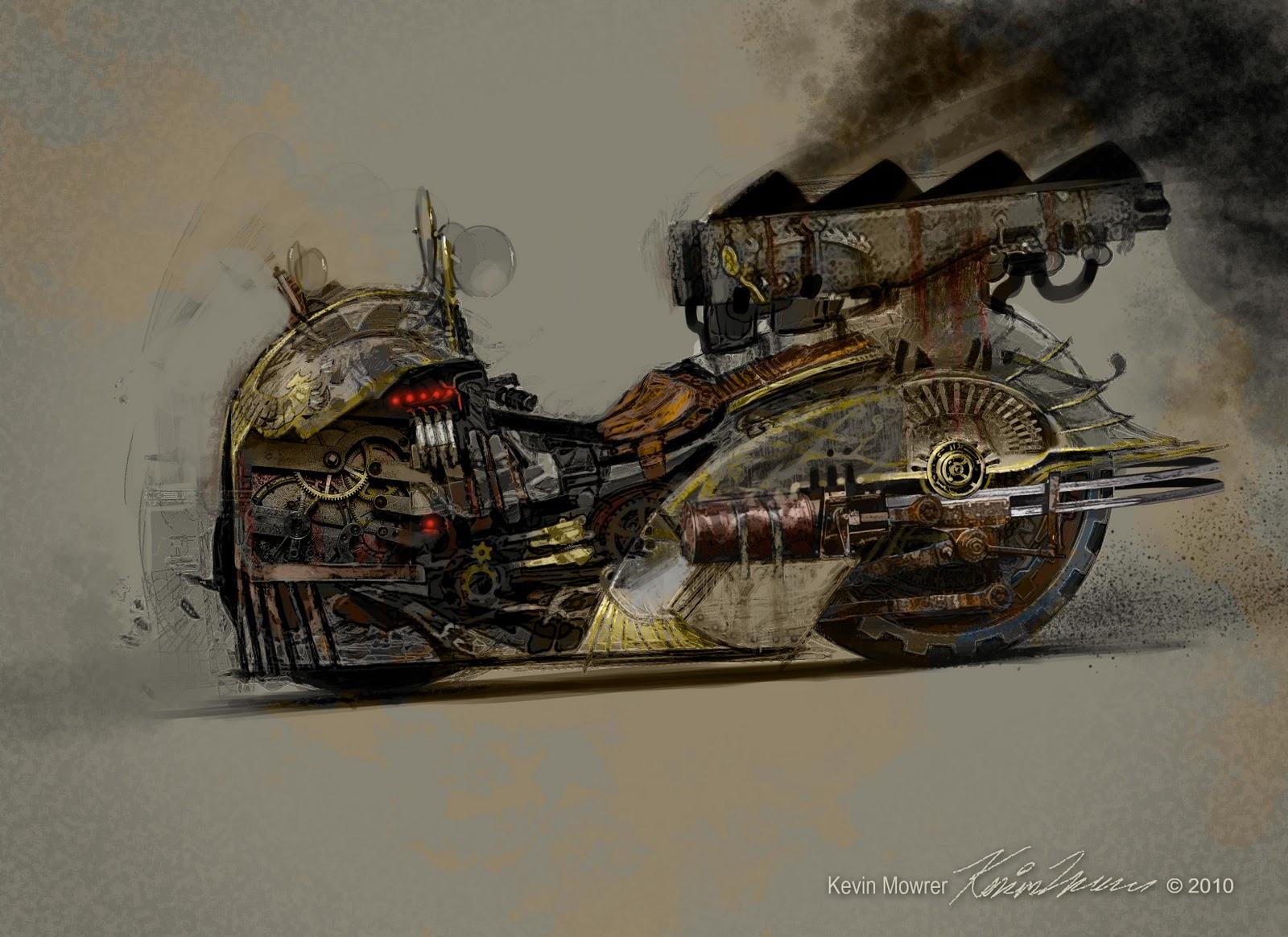 Idées : Moto Steampunk Steampunk+motorcycle+contraption