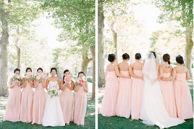 bridesmaids 39 dresses to match or not to match weddingbee