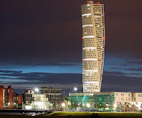 Turning Torso at Night