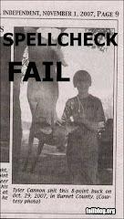 spellcheck -- FAIL