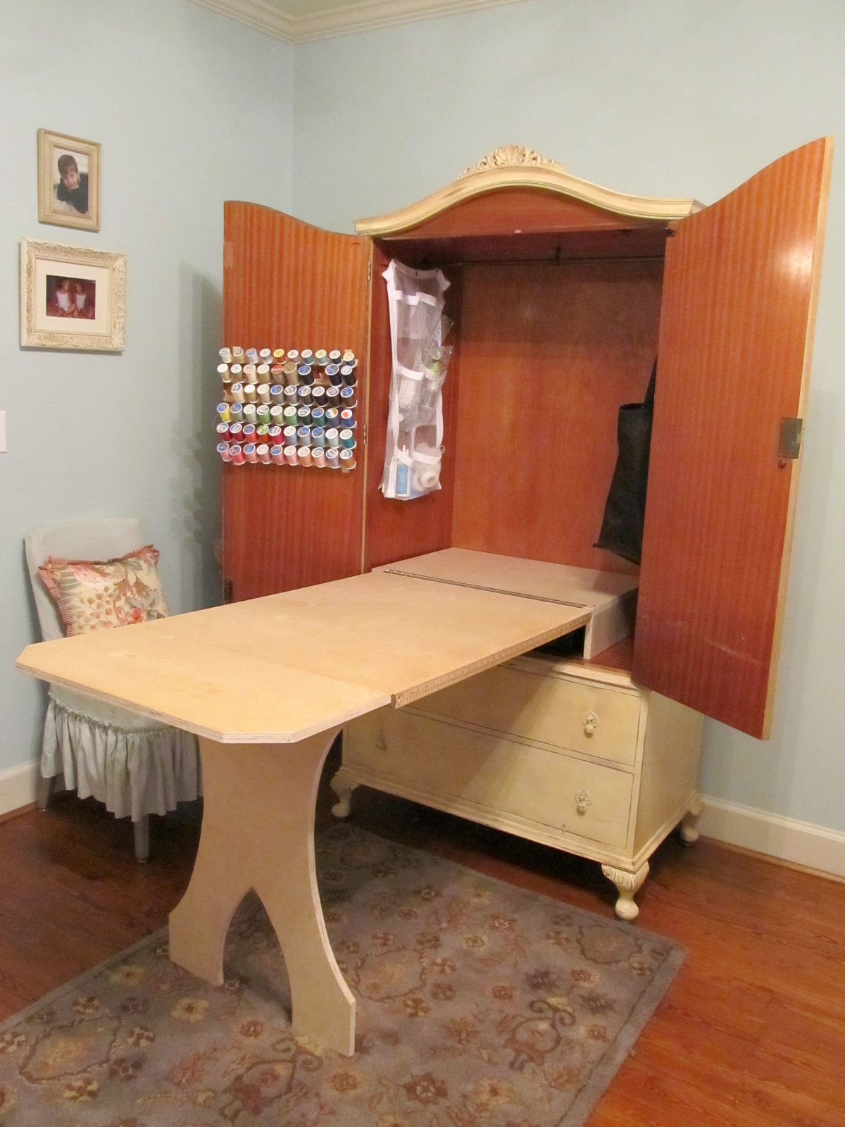 Cottage Hill Diy Sewing Cabinet