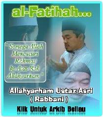 Allahyarham Ustaz Asri Rabbani