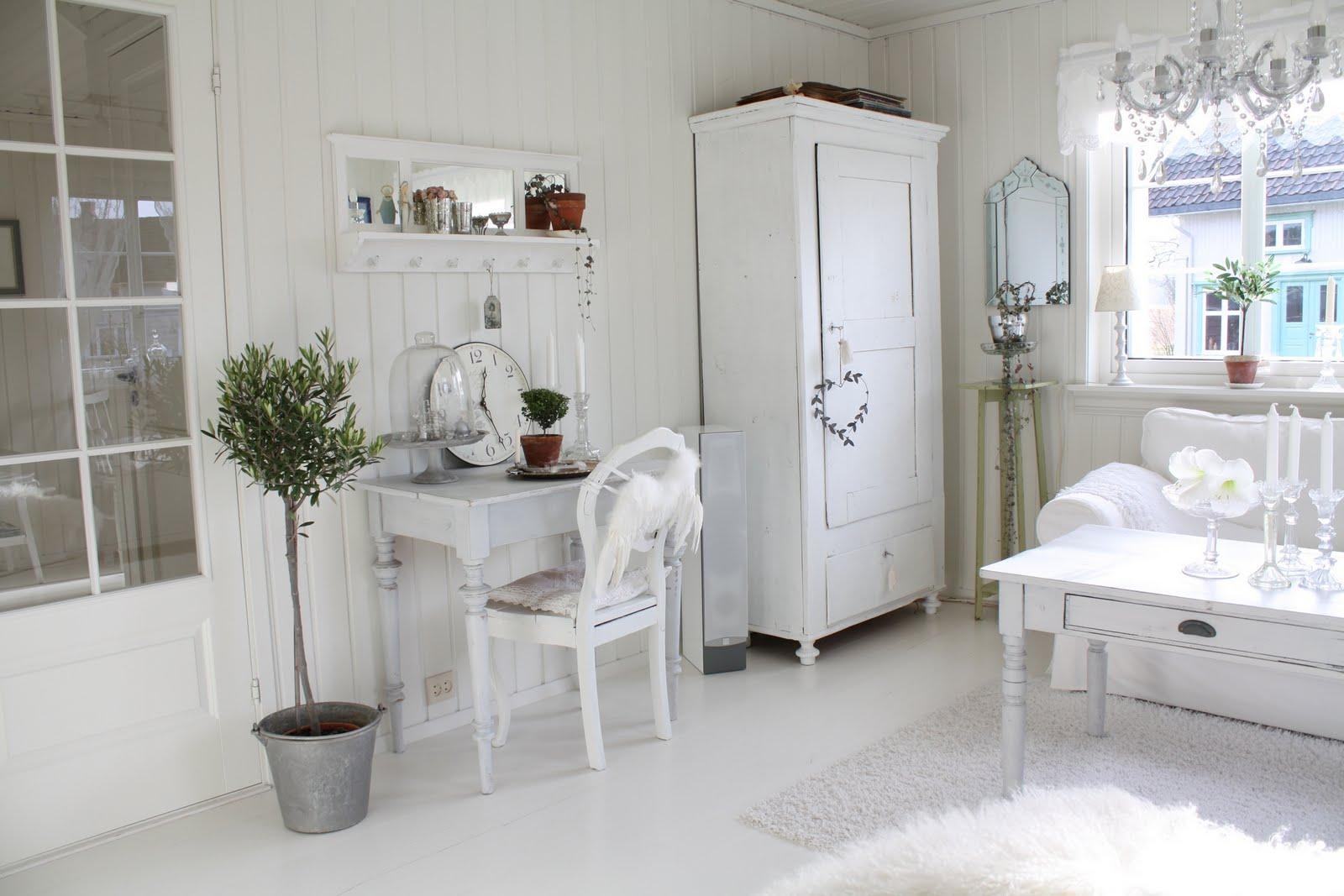 Hvit interiør – astric