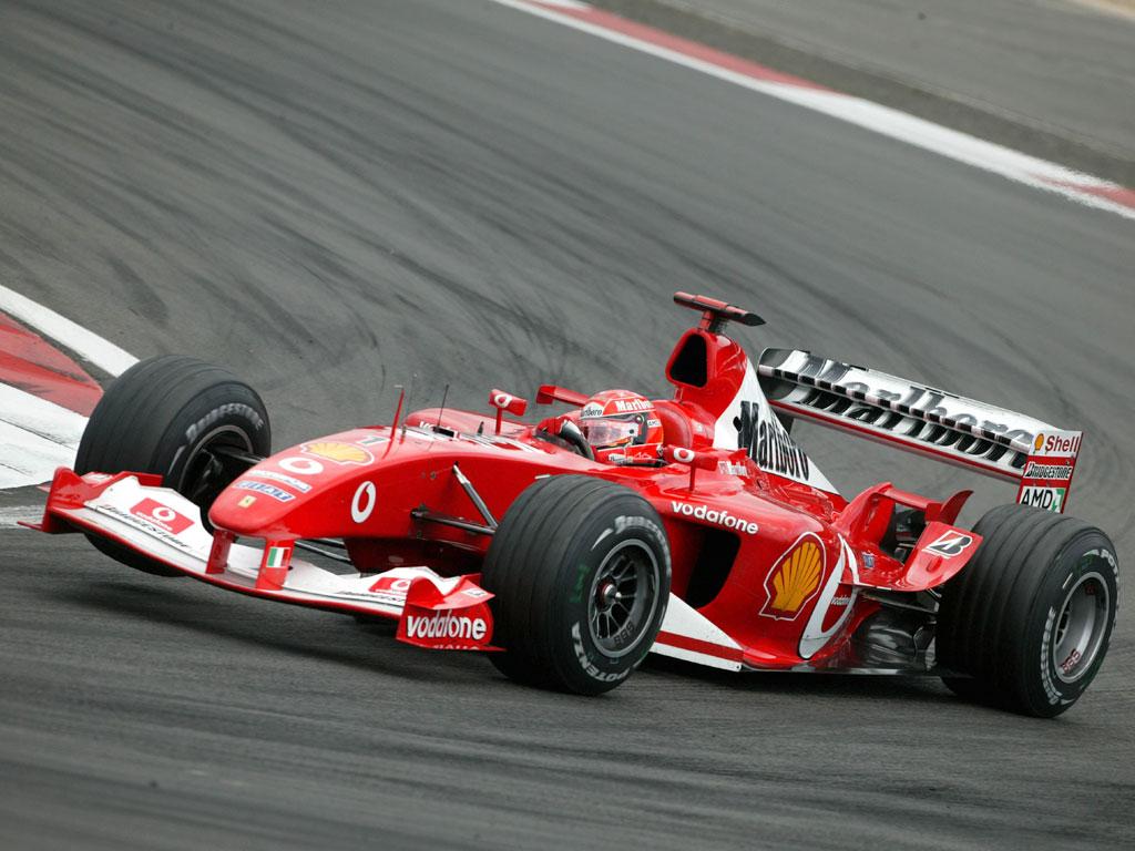 Michael Schumacher - Wallpaper Actress