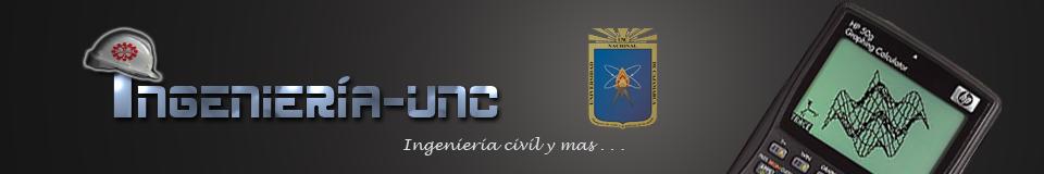 INGENIERIA UNC | Información sobre ingeniería
