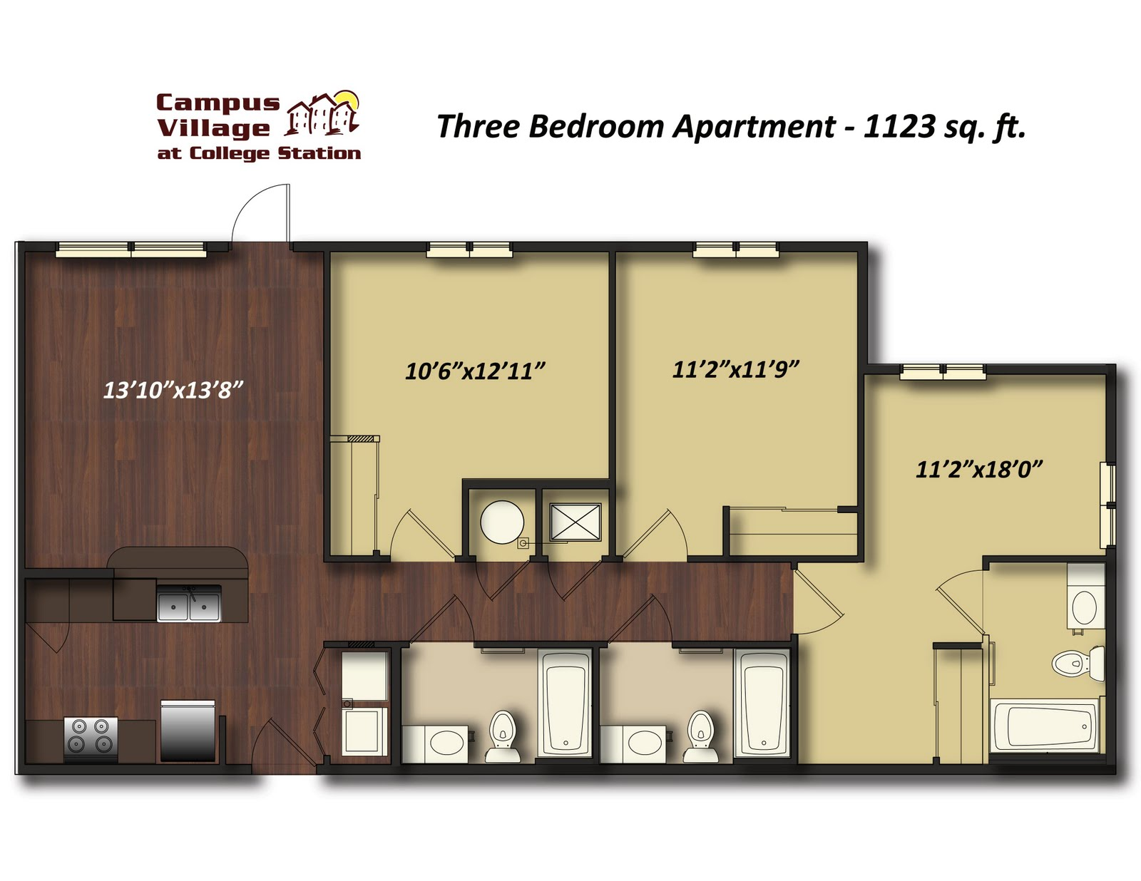 3 bedroom apartments in college station. One Bedroom Apartments College Station amazing pictures