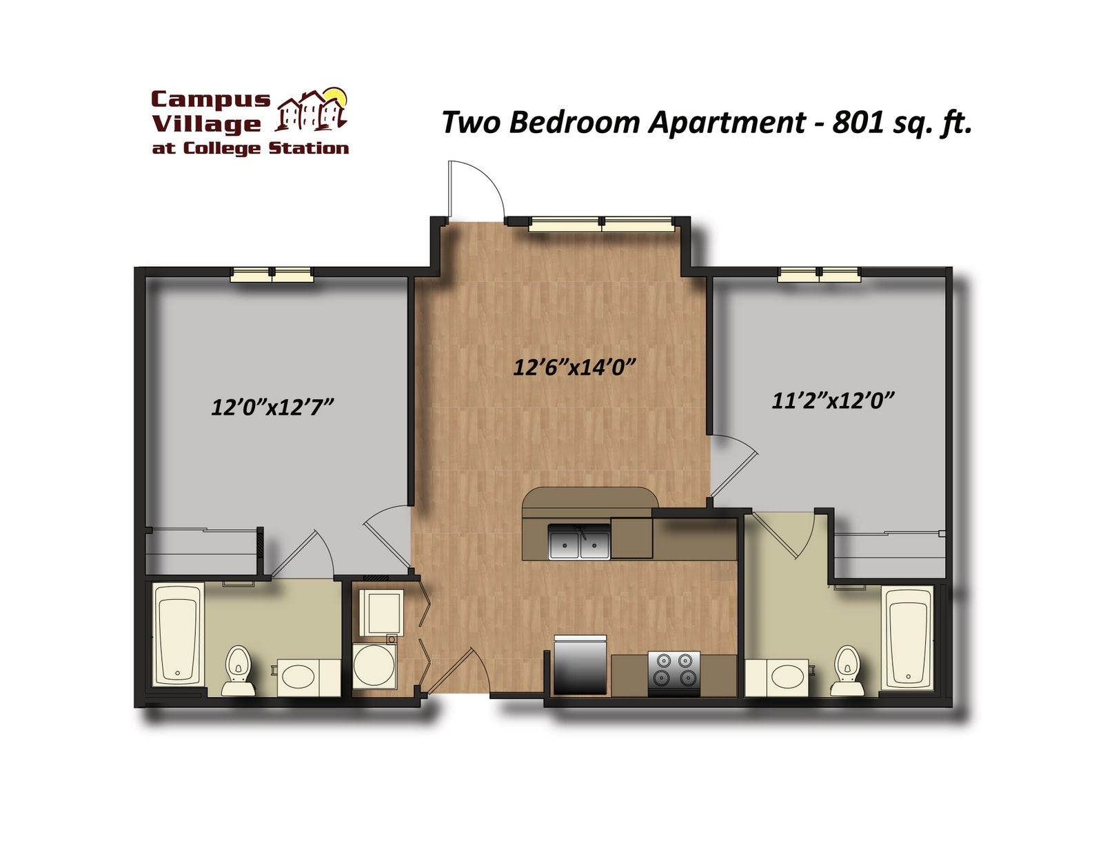 unit apartment floor plan