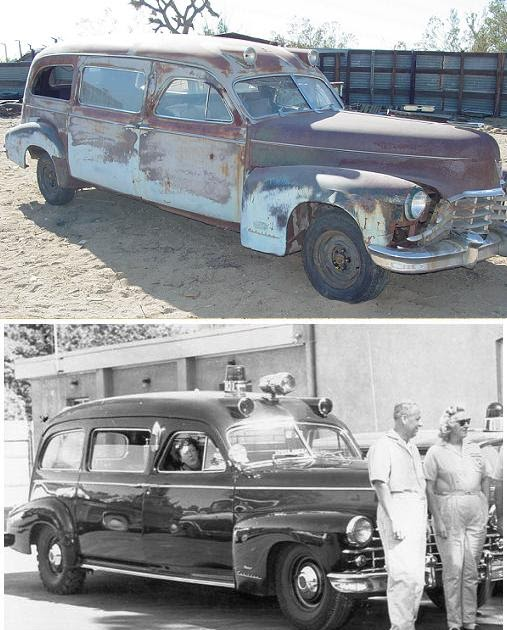 1948 cadillac 75 series 1948 ambulance by ohio coach for Cadillac motor car company