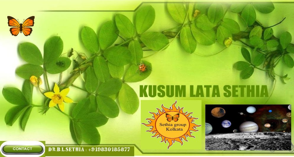 Welcome to the site of  kusum lata Sethia.Blog