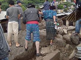 DESASTRES QUE DEJÓ LA TORMENTA AGATHA EN SANTA CATARINA PALOPÓ, SOLOLÁ; GUATEMALA.