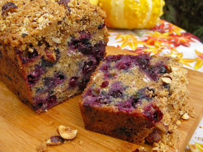 ... huckleberry loaf adapted slightly from maple huckleberry coffee cake