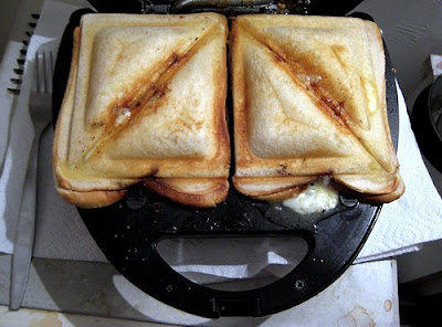 Toasted Vegetable Sandwich