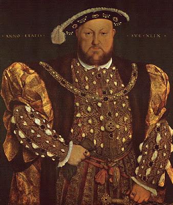 Henri VIII roi d'Angleterre Barbe-bleue