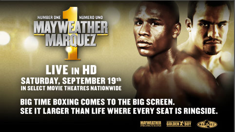 Mayweather vs. Marquez in Movie Theaters Live