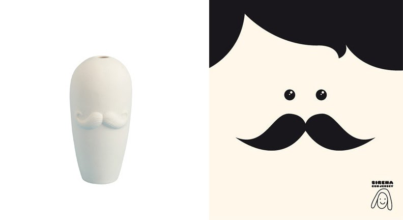 The Museum of Cute: Mini Moustaches