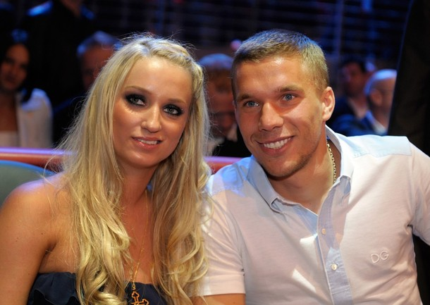 More off field problems for Arsenal? Bild deny claim Lukas Podolski has split from his wife Monika