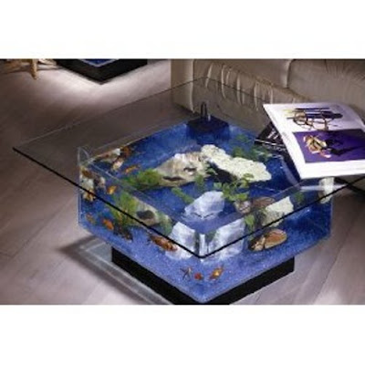Aqua Coffee Table-Modern Design