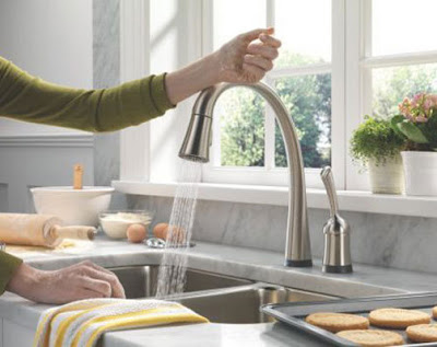 Touch Sensitive Faucet Features