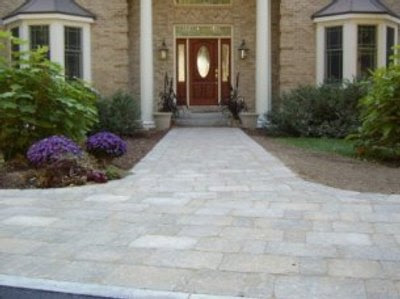 Small House Entrance Landscape-home design ideas
