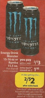 monster CVS Deals and Scenarios 11/23 11/29