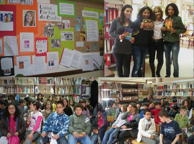 Visita à Escola de Pinhal Novo (18 de Março 2010)