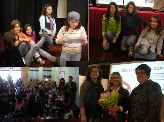 Visita à Escola do Viso em Viseu (19 de Março 2010)
