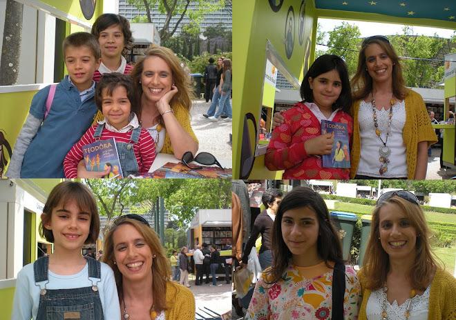 LUISA FORTES DA CUNHA NA FEIRA DO LIVRO LISBOA 16 MAIO 2009